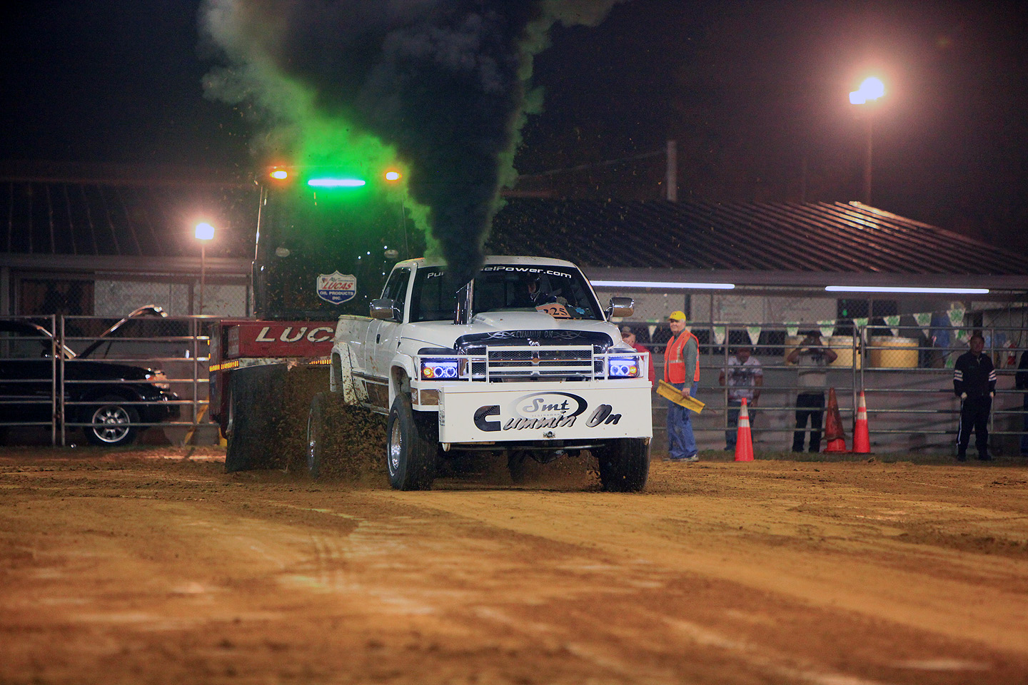 Tractor and Truck Pull for the Citrus County Fair 2017